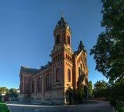 Igreja Católica de St Joseph em Nikolaev, Ucrânia imagem de stock