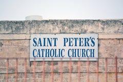 A igreja Católica de St Peter Fotos de Stock