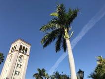 Igreja Católica do ` s de St Patrick em Miami Beach, Florida, EUA Fotos de Stock Royalty Free