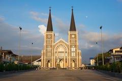 a igreja Católica em Tailândia foto de stock royalty free