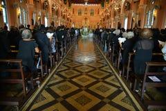 Igreja católica em Tailândia Fotos de Stock Royalty Free