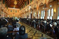 Igreja católica em Tailândia Foto de Stock