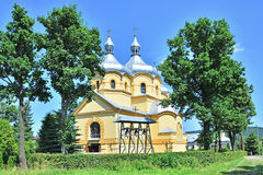 Igreja católica grega Imagens de Stock Royalty Free