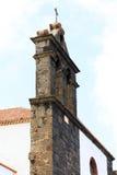 Igreja Católica histórica de Teguise, ilha de Lanzarote, Espanha fotografia de stock