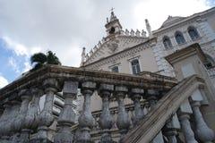 Igreja Católica histórica em Brasil imagem de stock royalty free
