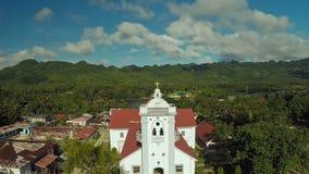 A igreja Católica no filipino Anda Cidade de Poblacion filme