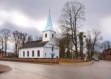 A igreja católica romana fotos de stock