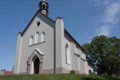 Igreja católica romana do awa do 'do St StanisÅ na cidade de Pyskowice Fotos de Stock Royalty Free