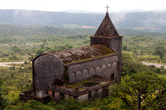 Igreja católica velha Fotos de Stock