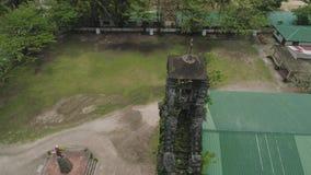 Igreja católica velha Barcelona, Sorsogon, Filipinas filme