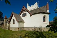 Igreja catita no jaspe Alberta Imagens de Stock Royalty Free