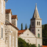Igreja Católica em Zlarin Fotos de Stock Royalty Free
