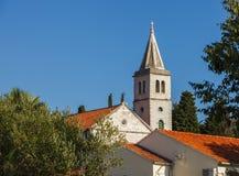 Igreja Católica em Zlarin Fotos de Stock