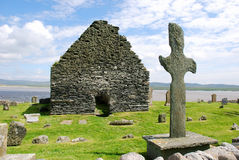 Igreja celta fotografia de stock