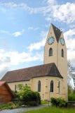 Igreja clássica Fotos de Stock Royalty Free