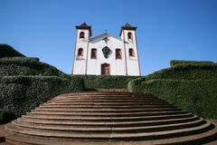 Igreja colonial Imagem de Stock Royalty Free