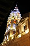 Igreja colonial em Cartagena, Colômbia Fotografia de Stock Royalty Free