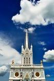 Igreja com céu azul Imagem de Stock