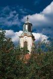 Igreja - com nuvens dramáticas Imagens de Stock
