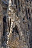 A igreja conhecida de Gaudi Fotos de Stock Royalty Free