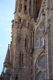 A igreja conhecida de Gaudi Imagens de Stock Royalty Free