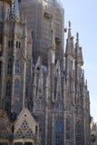 A igreja conhecida de Gaudi Foto de Stock Royalty Free