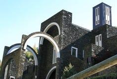 Igreja contemporânea em Andorra fotografia de stock