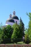 Igreja cor-de-rosa Fotografia de Stock Royalty Free