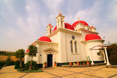 A igreja cor-de-rosa Imagem de Stock Royalty Free