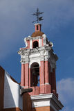 Igreja cor-de-rosa em Puebla, México Fotografia de Stock