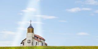 Igreja cristã Foto de Stock Royalty Free