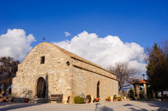 Igreja cristã com capela Fotografia de Stock Royalty Free