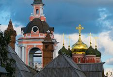 Igreja cristã do russo idoso Imagem de Stock