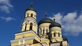 Igreja cristã nova na república de Moldova Fotografia de Stock
