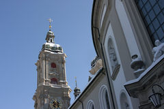 Igreja da abadia de Saint Gallen Imagens de Stock Royalty Free