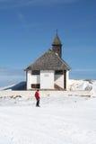 Igreja da alta altitude Fotos de Stock Royalty Free