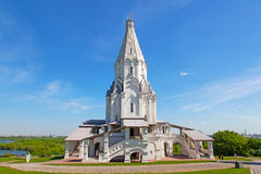 Igreja da ascensão em Kolomenskoye, Moscovo, Rússia Imagem de Stock