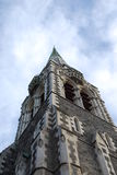 Igreja da catedral, Christchurch Foto de Stock