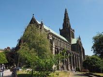 Igreja da catedral de Glasgow imagem de stock