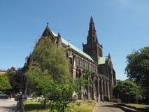 Igreja da catedral de Glasgow imagens de stock royalty free