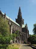 Igreja da catedral de Glasgow fotografia de stock royalty free