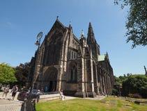 Igreja da catedral de Glasgow imagens de stock