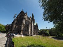 Igreja da catedral de Glasgow fotografia de stock