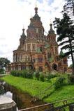Igreja da catedral do salvador no sangue St Petersburg Imagens de Stock