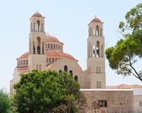 Igreja da cidade fotografia de stock royalty free