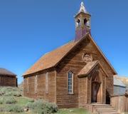 Igreja da cidade fantasma Foto de Stock