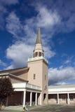 Igreja da cidade pequena Fotografia de Stock