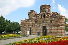 Igreja da cidade velha Nessebar de Cristo Pantocrator Fotos de Stock Royalty Free