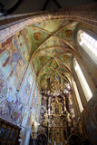 Igreja da concepção imaculada da Virgem Maria em Lepoglava, Croácia imagens de stock