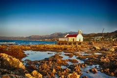 Igreja da Creta. imagens de stock royalty free